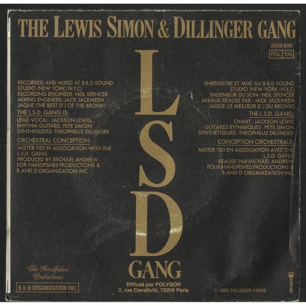 Lewis Simon & Dillinger Gang, New York Groove -instrumental