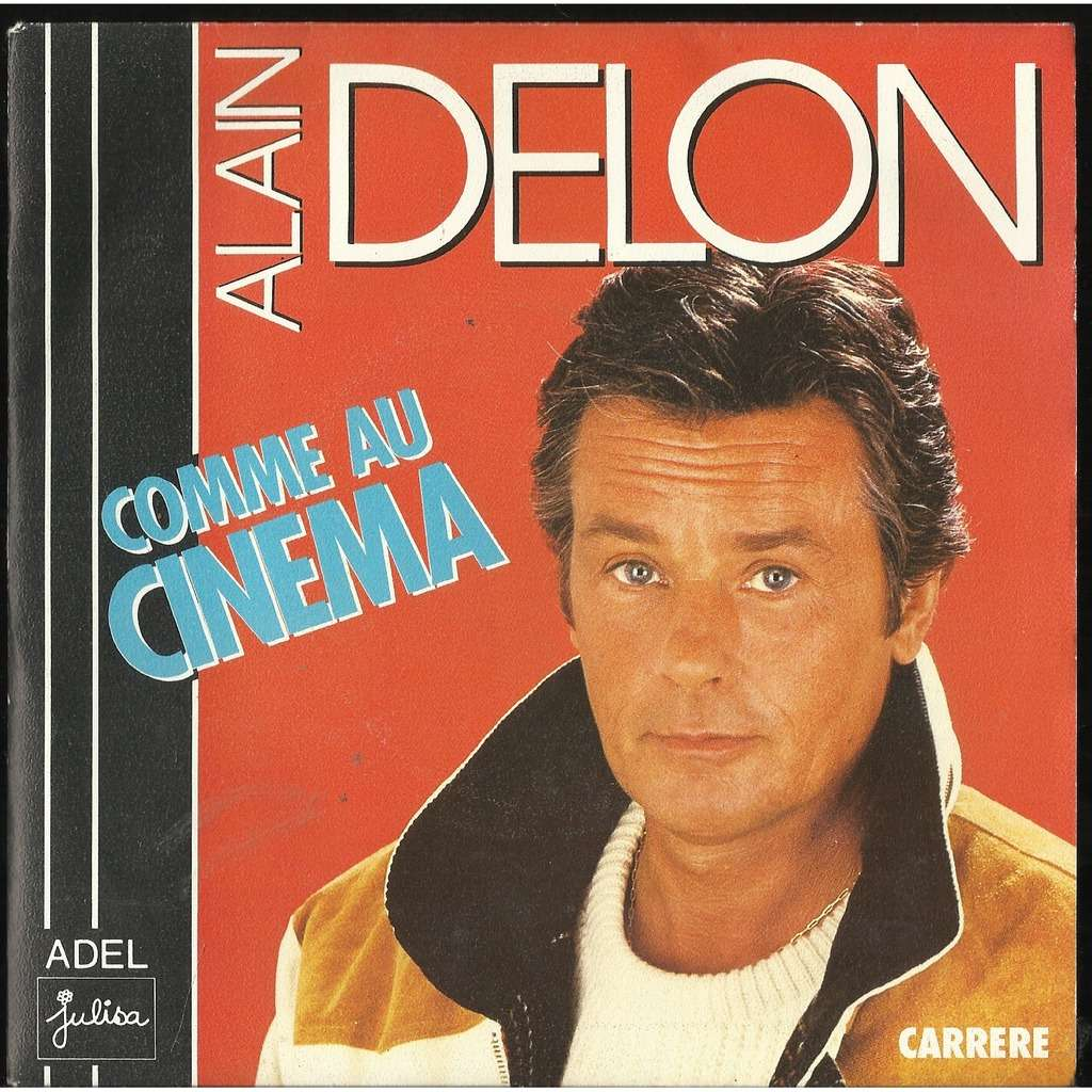 Comme Au Cin 233 Ma By Alain Delon Sp With Libertemusic Ref