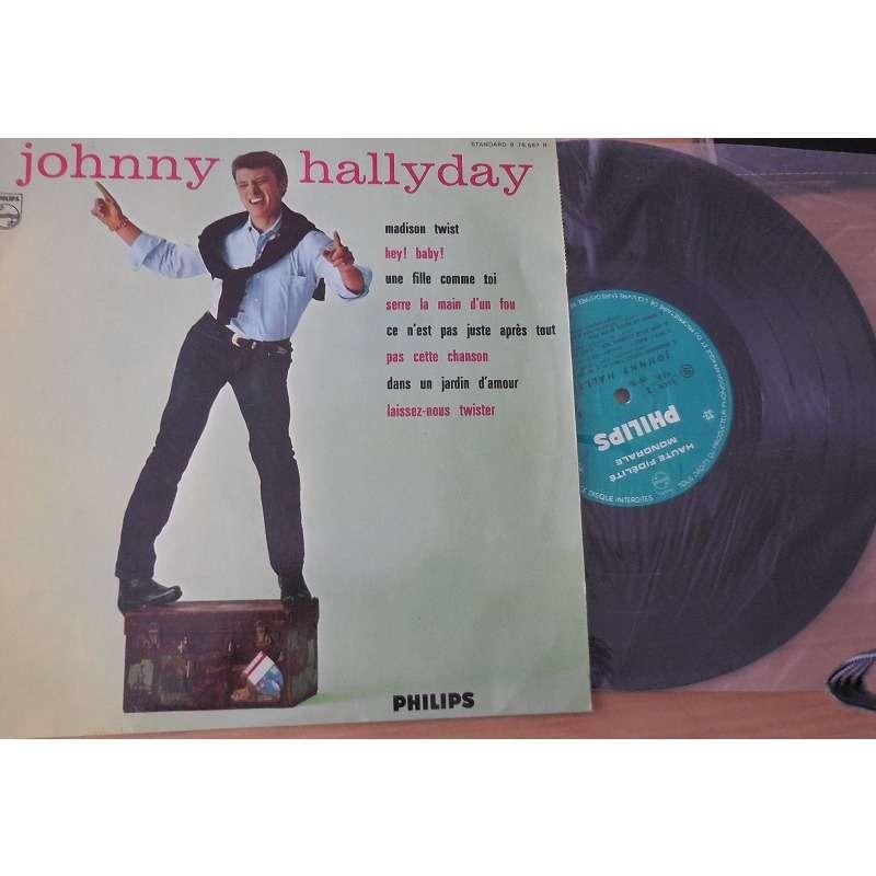 johnny hallyday Madison Twist , Hey Baby ,Une Fille Comme Toi Etc... Original Biem N° 3