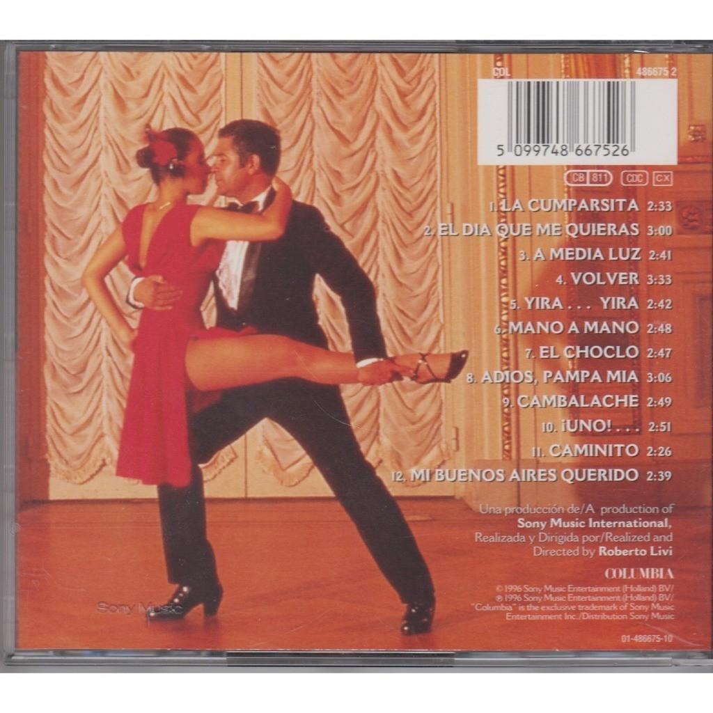 Tango Columbia Austria 1996 By Julio Iglesias Cd With