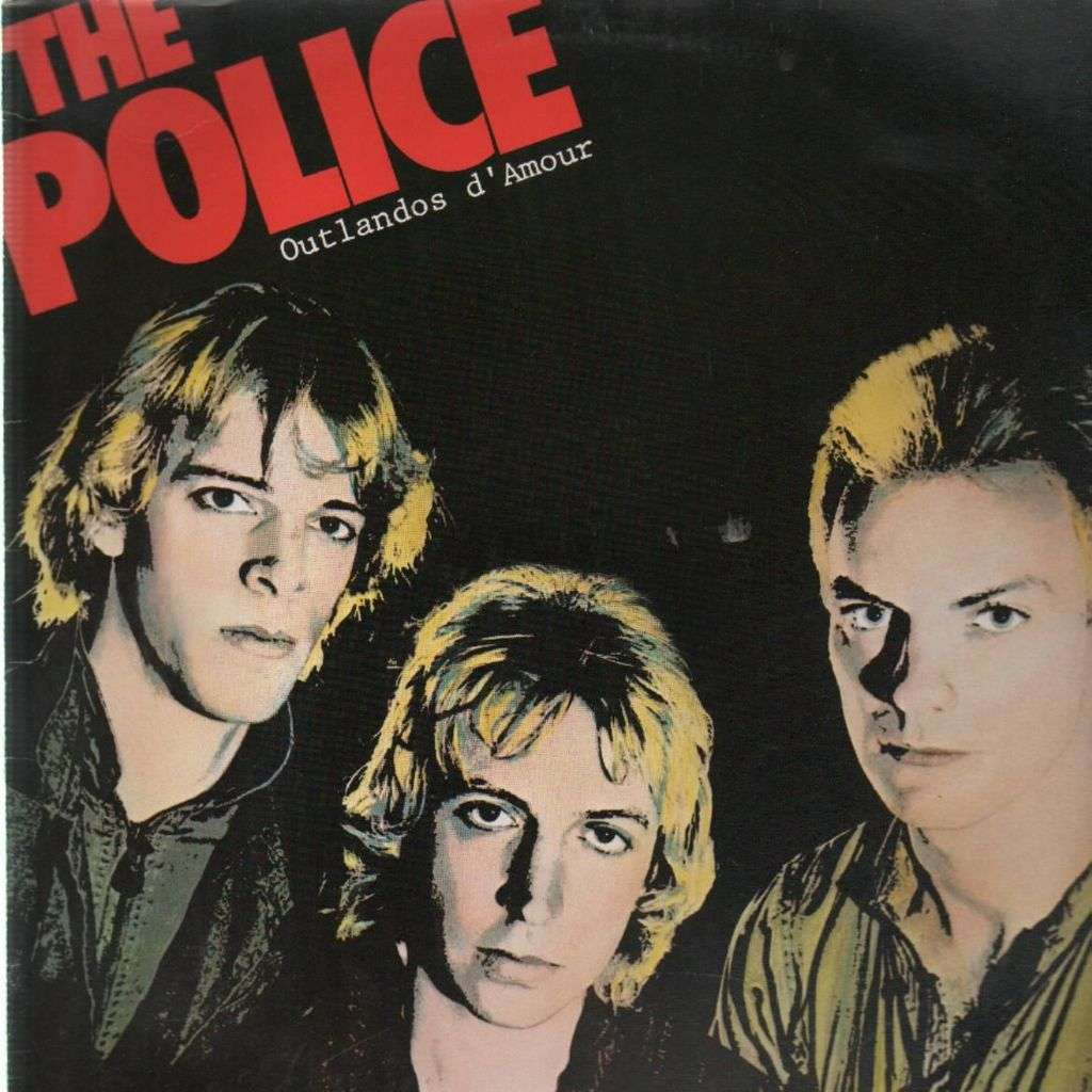 Outlandos D Amour By The Police Lp With Draman Ref