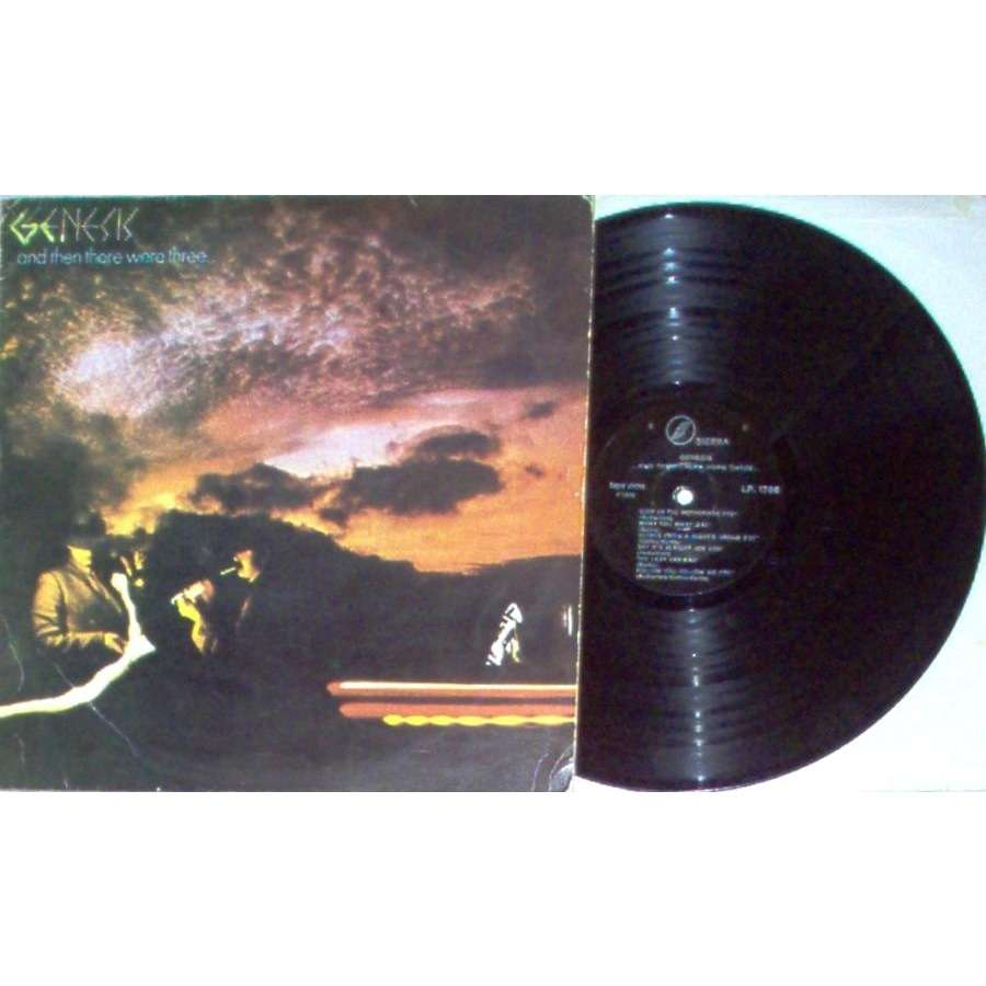 Genesis .....and then there were three.... (Turkish 1978 11-trk LP on Sierra lbl unique not gf ps)