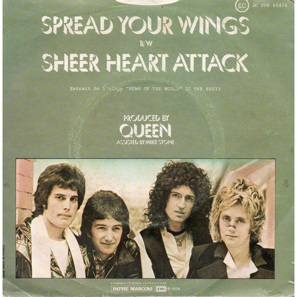 queen spread your wings / sheer heart attack