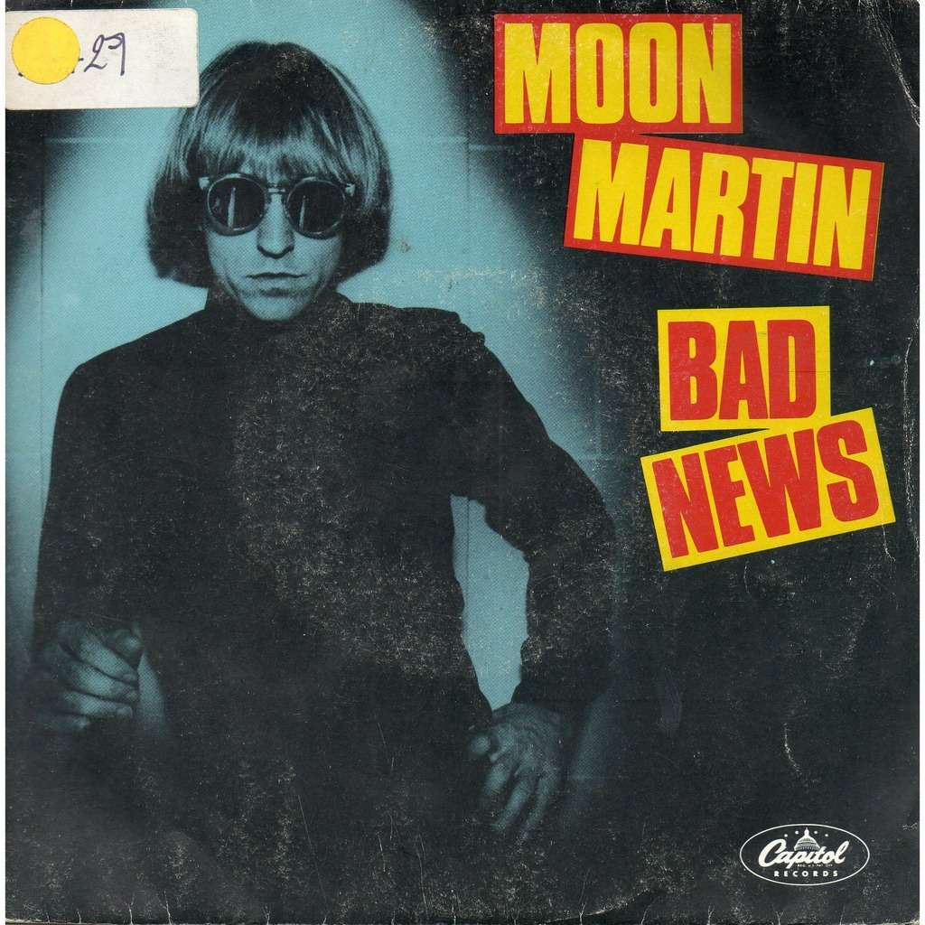 moon martin bad news / havana moon