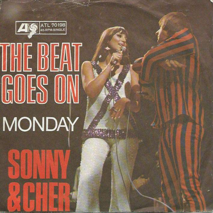 The beat goes on / monday de Sonny And Cher, SP chez ...