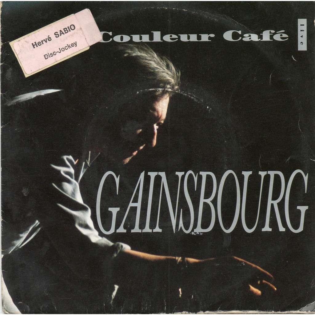 serge gainsbourg couleur café (live ) / les dessous chics ( live )