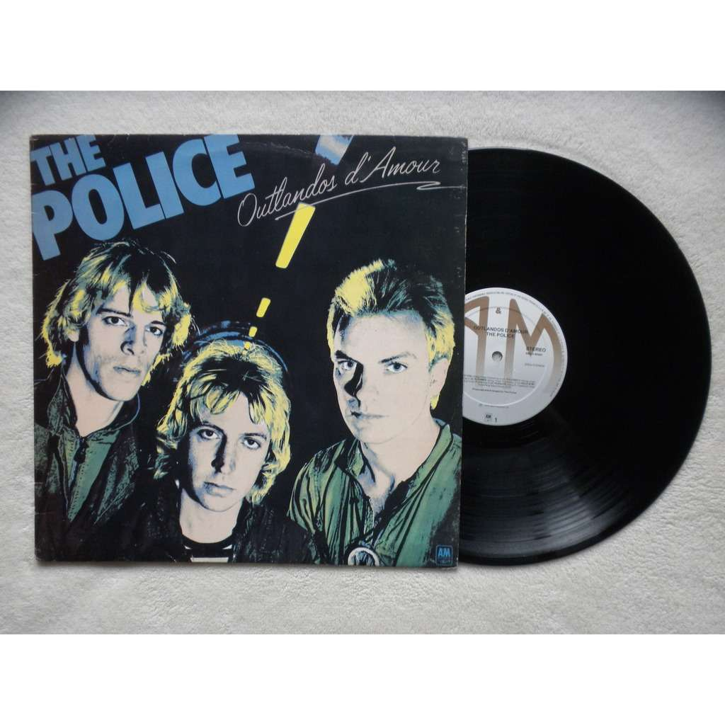 Outlandos D Amour By Police Lp With Sebrecords Ref
