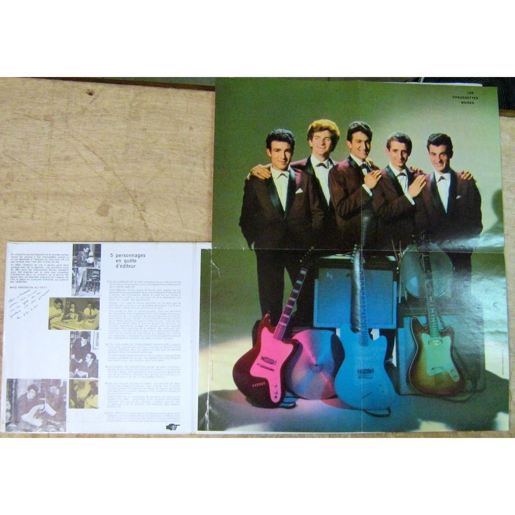 Mitchell Eddy - Chaussettes Noires 100% rock (Avec poster !)