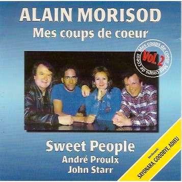 Mes coups de coeur vol 2 de alain morisod cd chez pycvinyl ref 113660535 - Les coups de coeur alain morisod ...