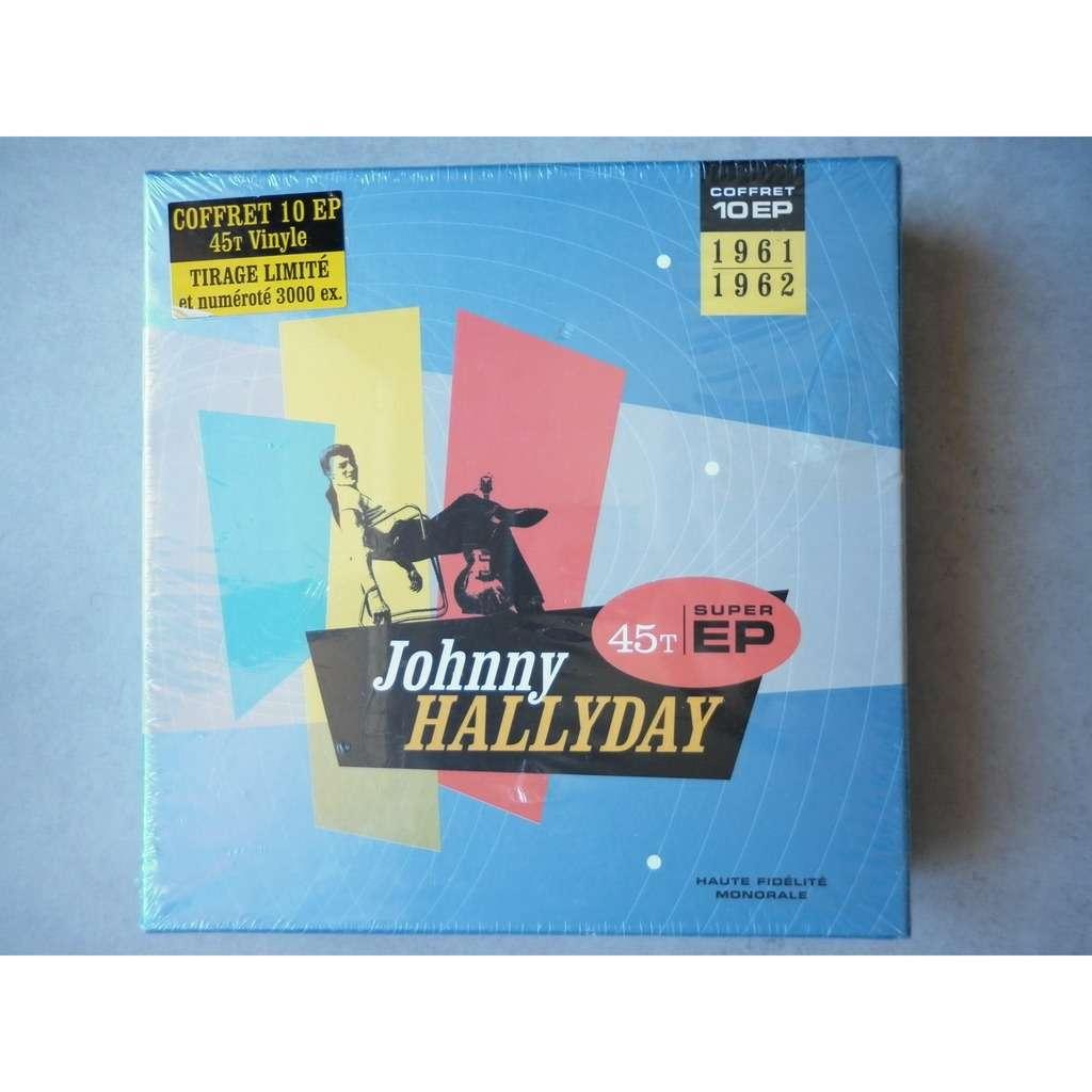 Johnny Hallyday 10 EP en 45Tours vinyle 1961-1962