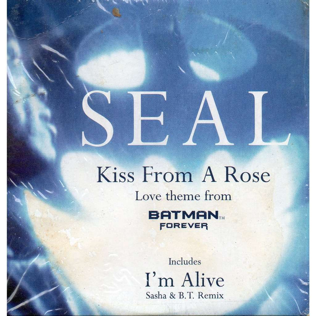 Zoom seals kiss from a rose love theme from batman forever cd