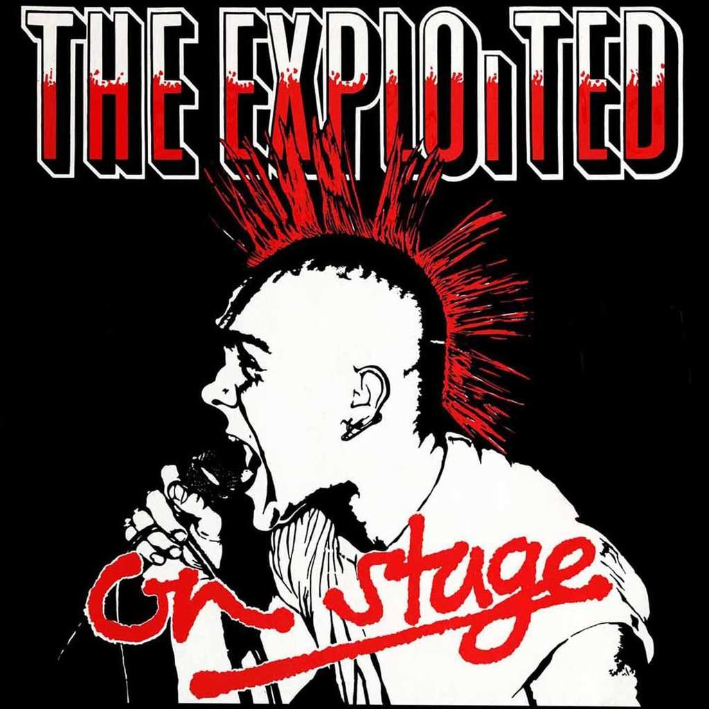 The Exploited On Stage (lp) Ltd Edit Coloured Vinyl -U.K