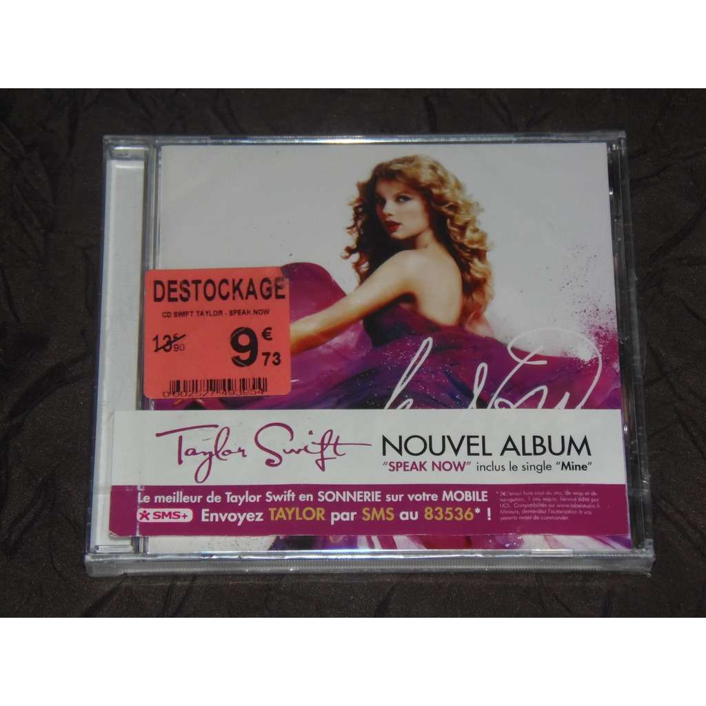 Speak Now By Taylor Swift Cd With Rockstation Ref 117666934