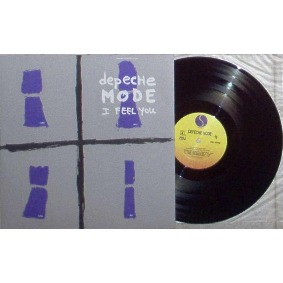Depeche Mode I Feel You (USA 1993 Ltd 7-trk 12EP full ps)