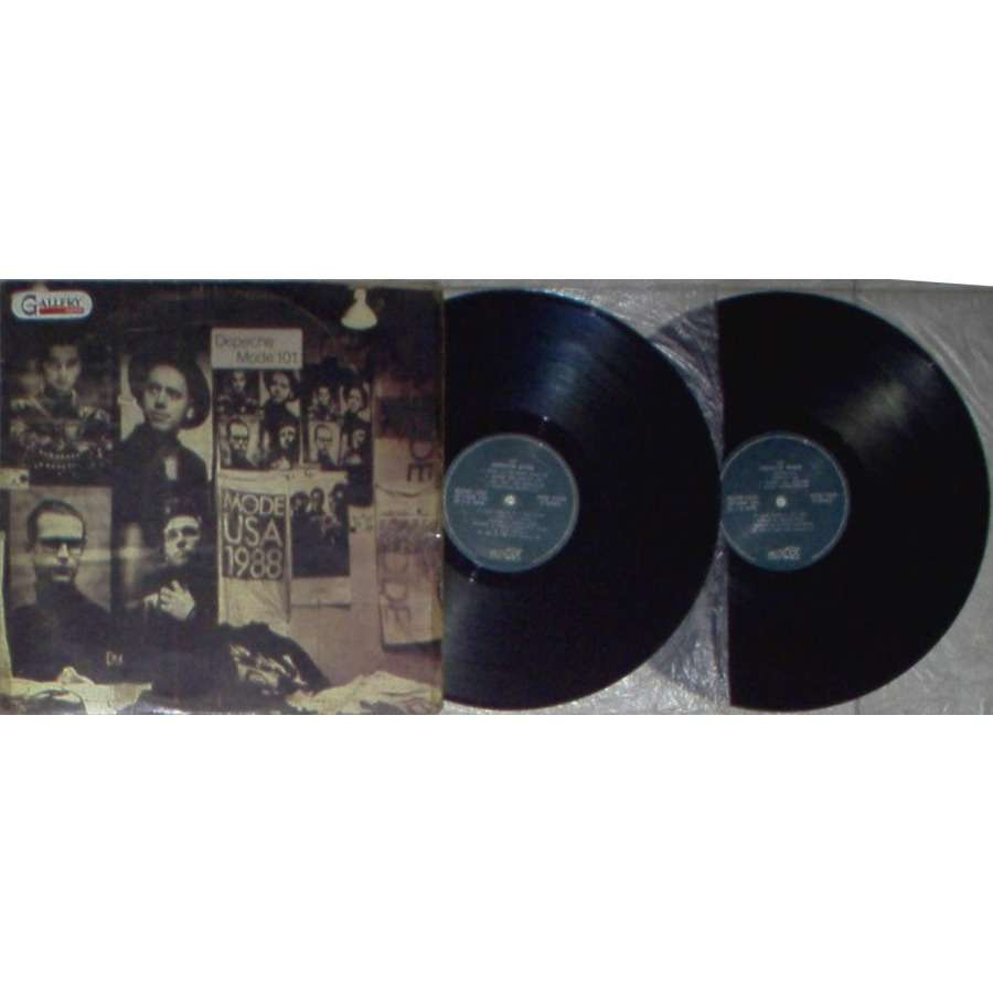 Depeche Mode 101 (Philippines 1989 ltd 17-trk 2LP set full card gf ps)