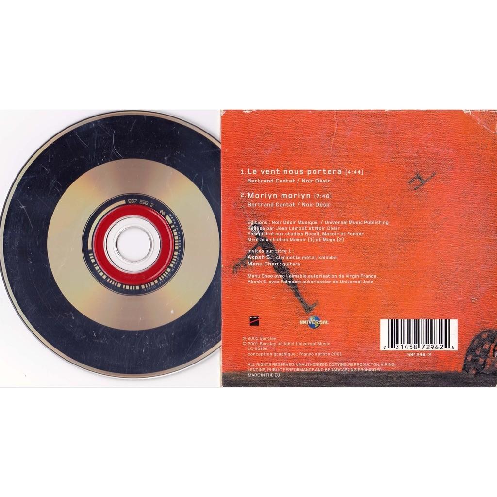 Le vent nous portera moriyn moriyn de noir desir cds - Partition guitare le vent nous portera ...