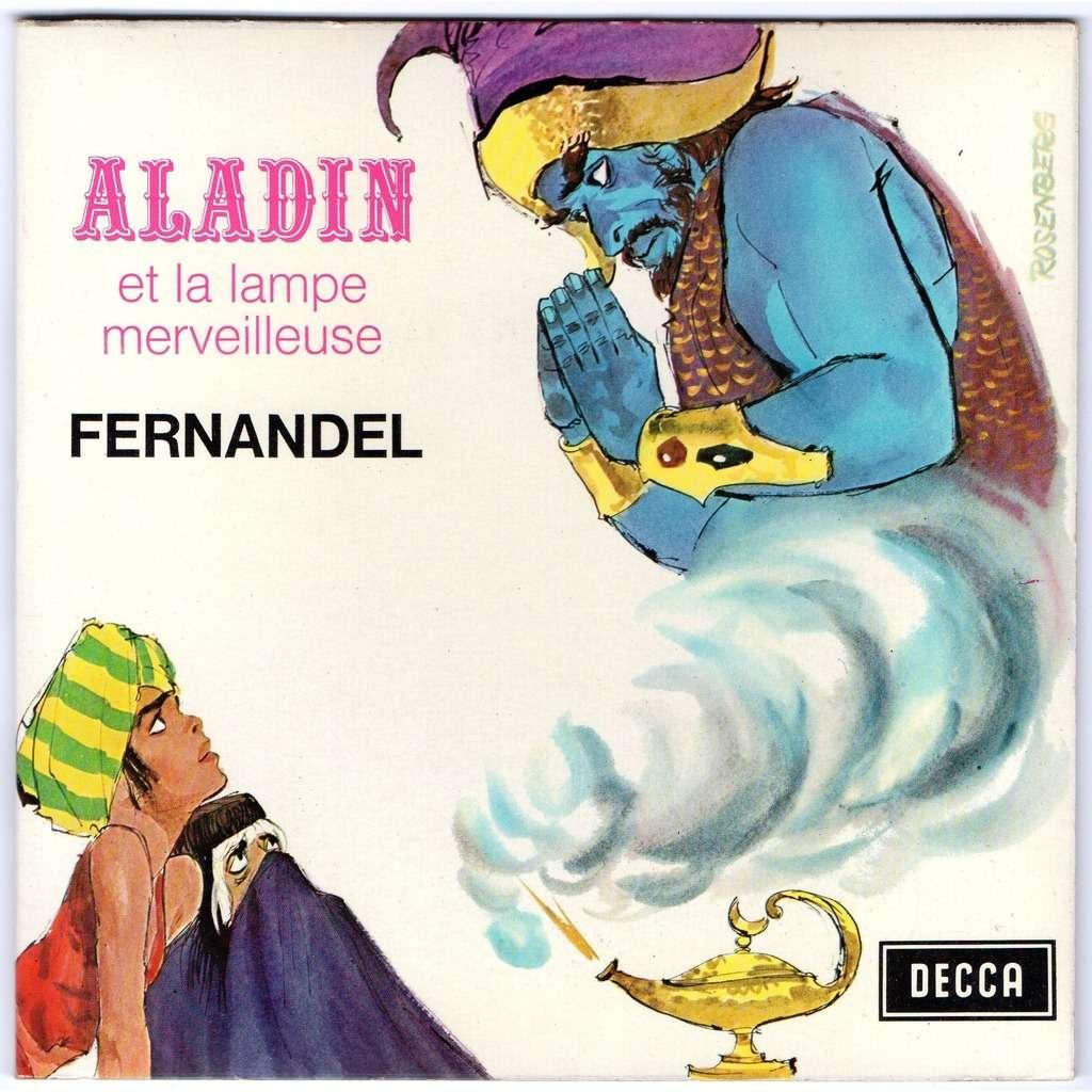 Aladin Et La Lampe Merveilleuse Livre Disque By Fernandel Sp With