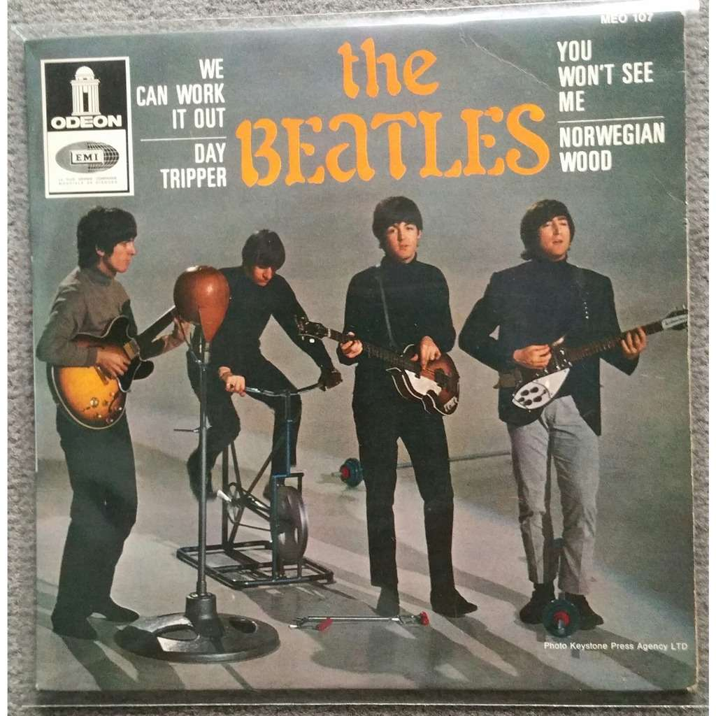 We can work it out +3 de Beatles, EP chez Walli.One