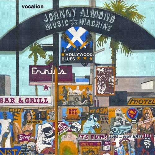 Johnny Almond Music Machine Hollywood Blues