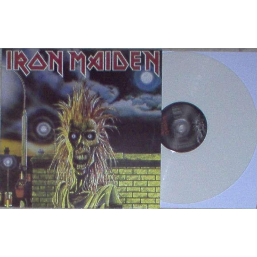 Iron Maiden Iron Maiden (UK 2006 Ltd re 8-trk LP WHITE vinyl full ps)