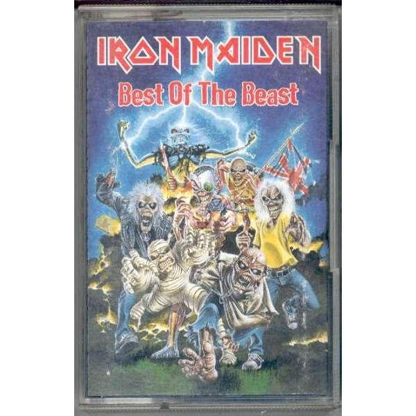 iron maiden Best Of The Beast (Italian 1996 Ltd 16-trk Cassette album full ps)
