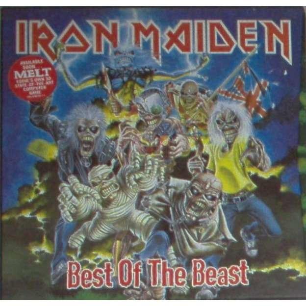 iron maiden Best Of The Beast (UK 1996 Ltd 34-trk 4LP & Book Box set)