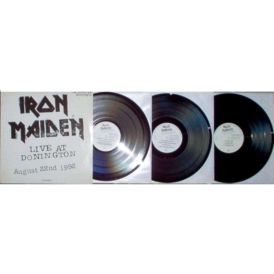 iron maiden Live at Donington August 22nd 1992 (Spanish 1993 Ltd 20-trk 3LP full ps-unplayed copy!!)