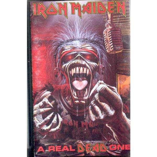 iron maiden A Real Dead One (UK 1993 Ltd 12-trk Cassette album full ps)