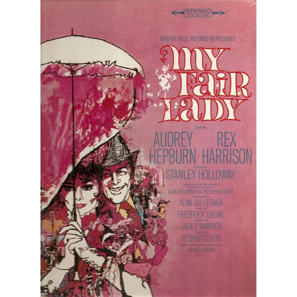 Audrey Hepburn, Rex Harrison My Fair Lady Soundtrack