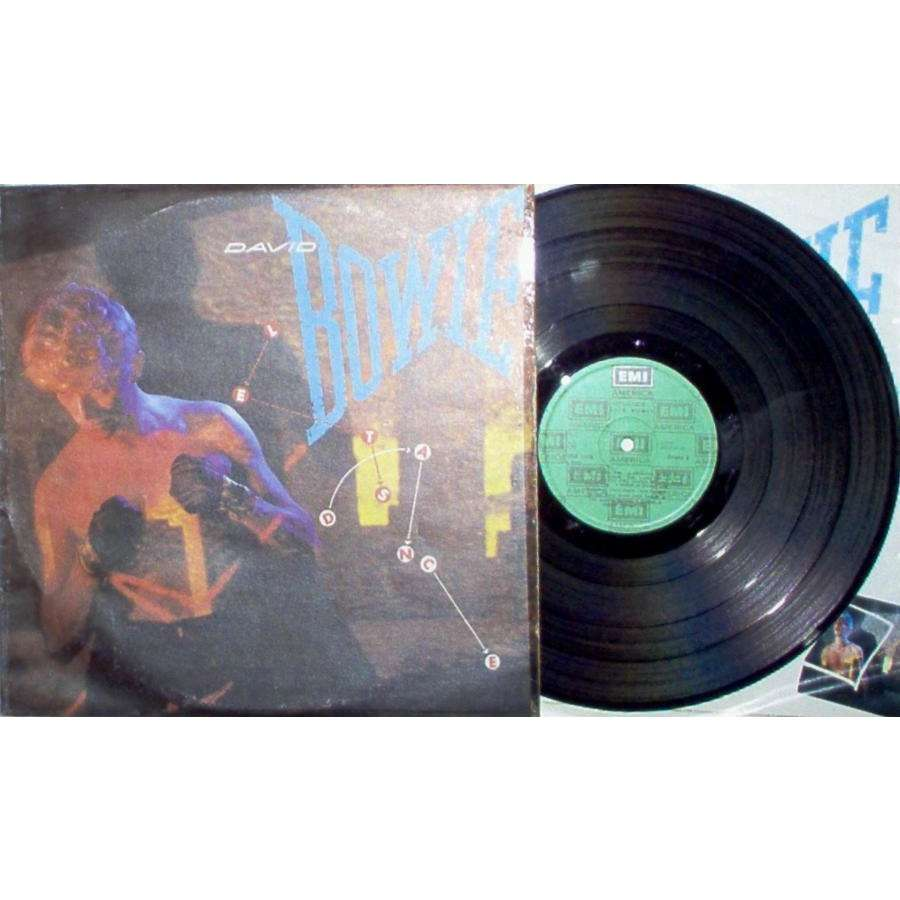 David Bowie Let's Dance (Yougoslavia 1983 8-trk LP full ps & inner slv)