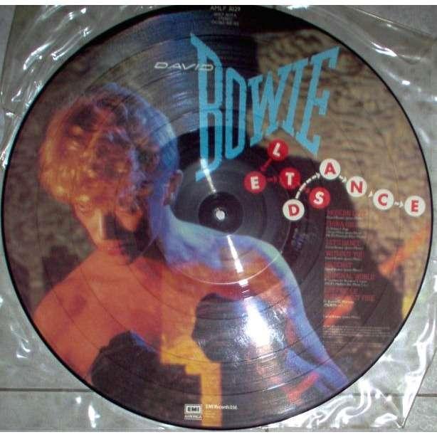 David Bowie Let's dance (UK 1983 Ltd 8-trk 'Serious Moonlight Tour '83' LP Picture Disc)