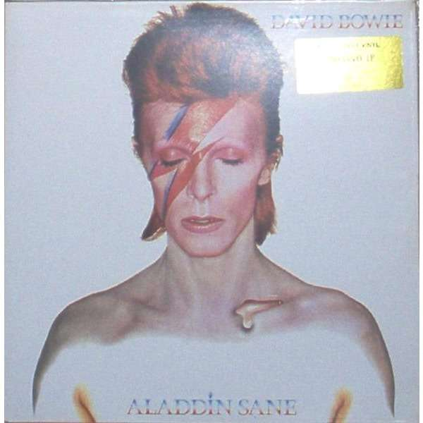 David Bowie Aladdin Sane (UK Ltd 'Simply Vinyl' 10-trk LP deluxe gf ps+outer stickered bag)