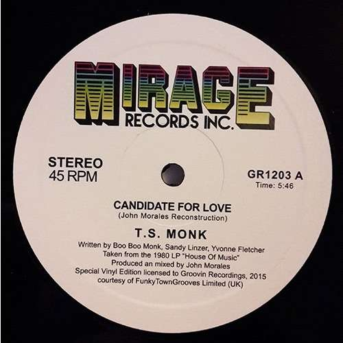T.S. Monk Candidate For Love John Morales Reconstruction