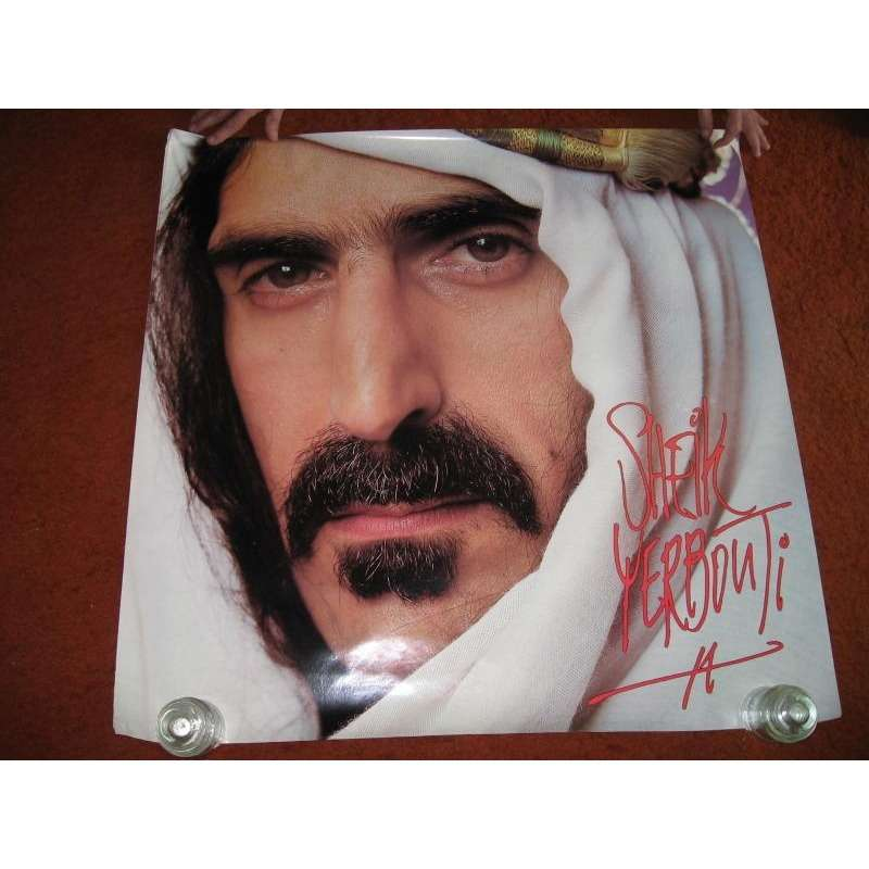 sheik yerbouti usa 1979 original large 100 x 100 cm promo
