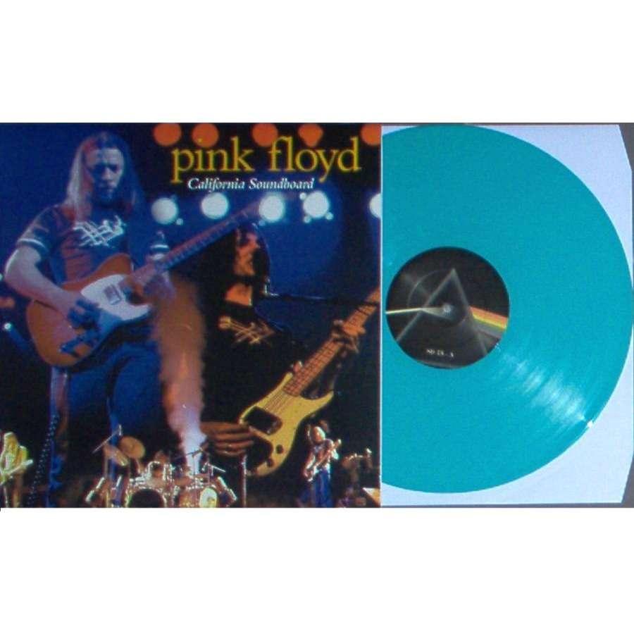 Pink Floyd California Soundboard (San Diego Sports Arena 21.04.1975) (Ltd 100 copies LP AQUA Wax deluxe ps)