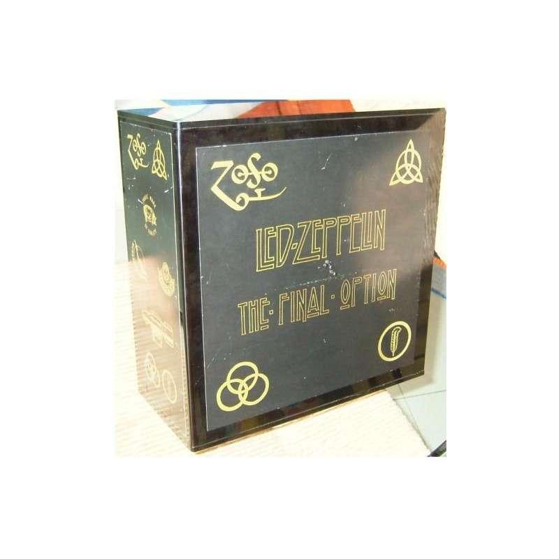 The Final Option Ltd 150 Copies Live 70lp Box Set