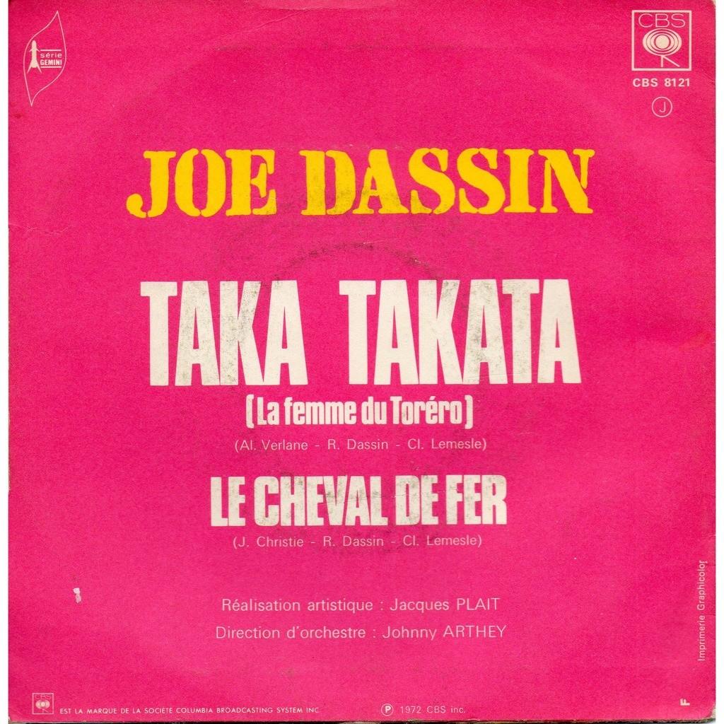 Taka Takata (La Femme Du Tor ro Remix Latino ) - Joe Dassin