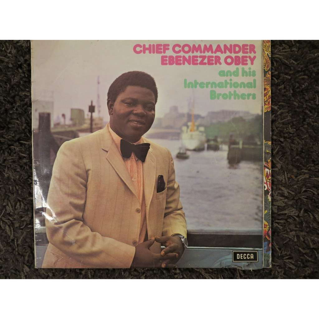 chief commander ebenezer obey & his int. brothers ebenezer obey in london, vol. 3