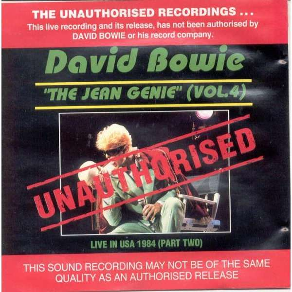 David Bowie The Jean Genie Vol.4 (Live in USA 1984 Part Two)