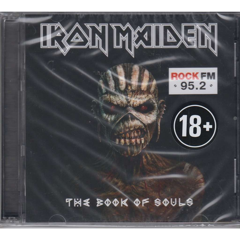 Iron Maiden The Book Of Souls Warner Music Russia 2015 2CD