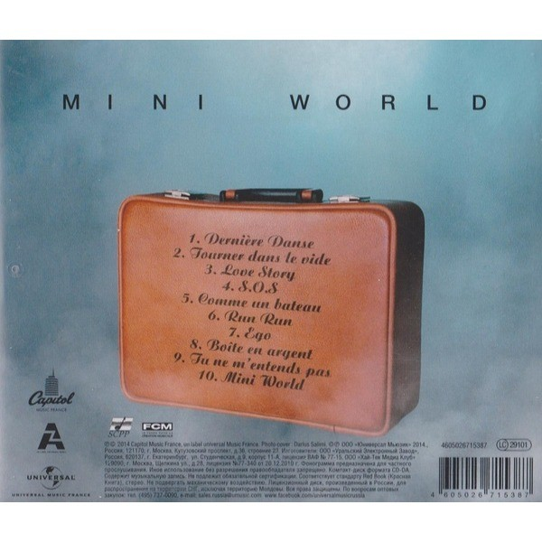 Mini World By Indila Cd With Techtone11 Ref117707373