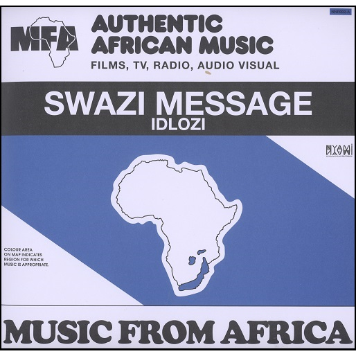 Music From Africa vol.1 Swazi Message / Township jive