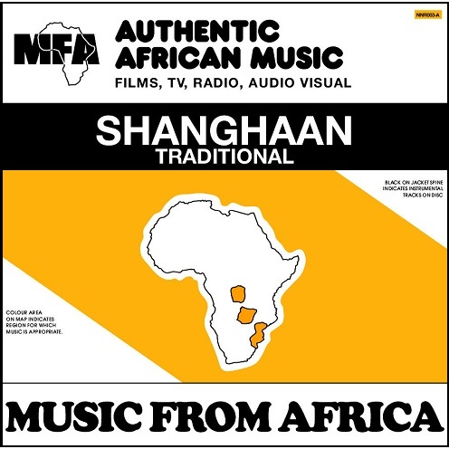 Music From Africa Vol.2 Shanghaan Traditional / Sotho chant