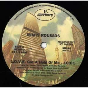 DEMIS ROUSSOS L.o.v.e. got a hold of me