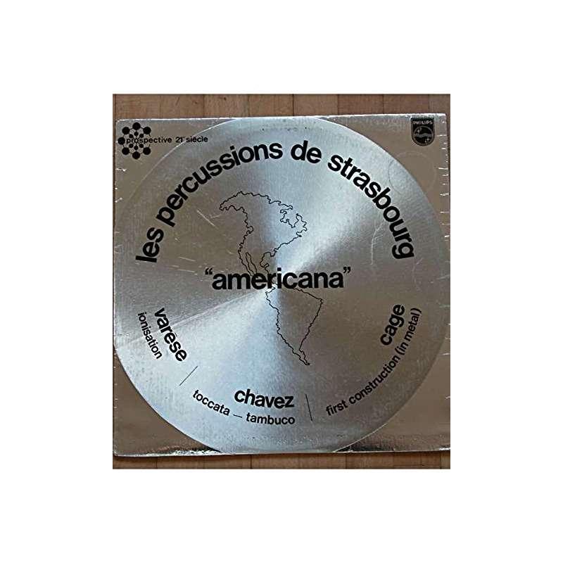 les percussions de strasbourg AMERICANA