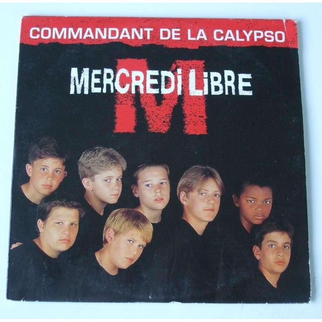 Mercredi libre Commandant de la Calypso