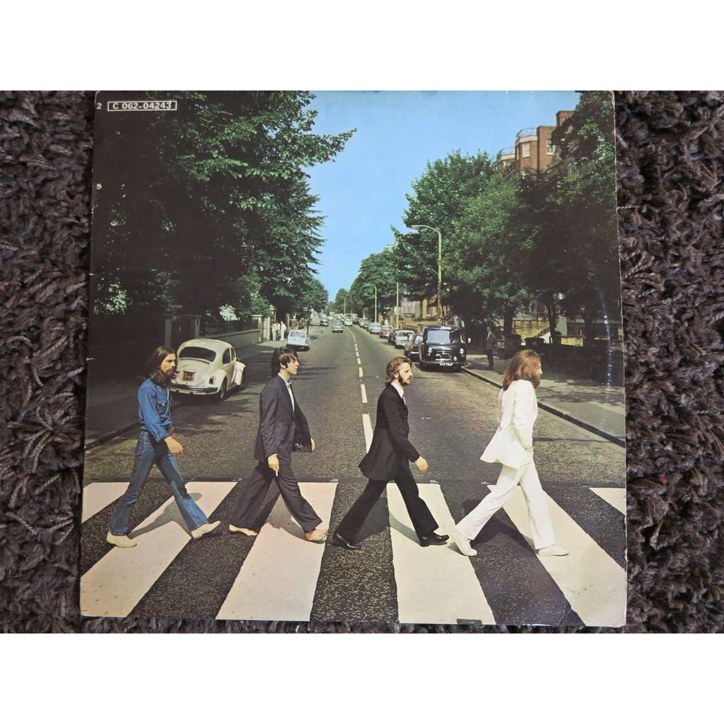 Abbey Road By Beatles LP With Fabien1