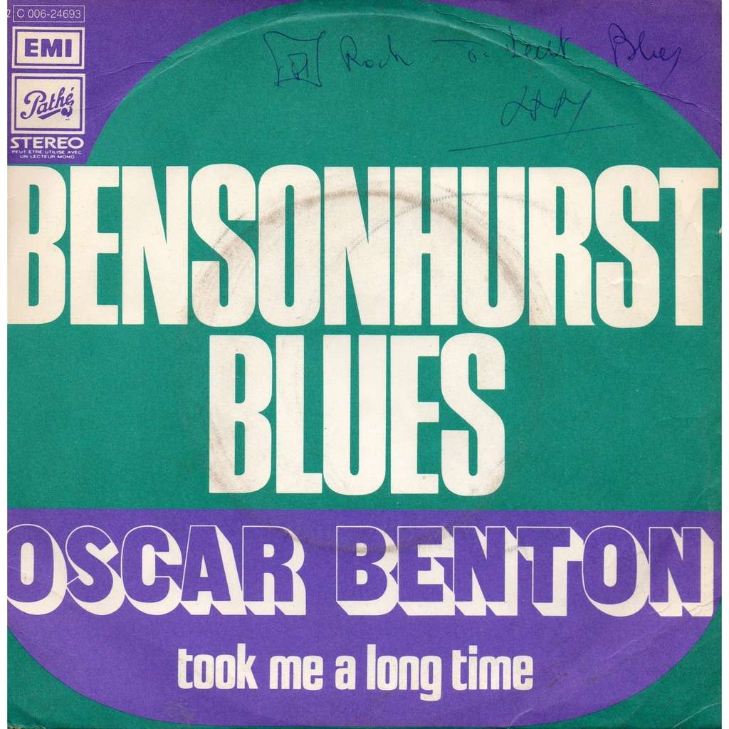 oscar benton bensonhurst blues