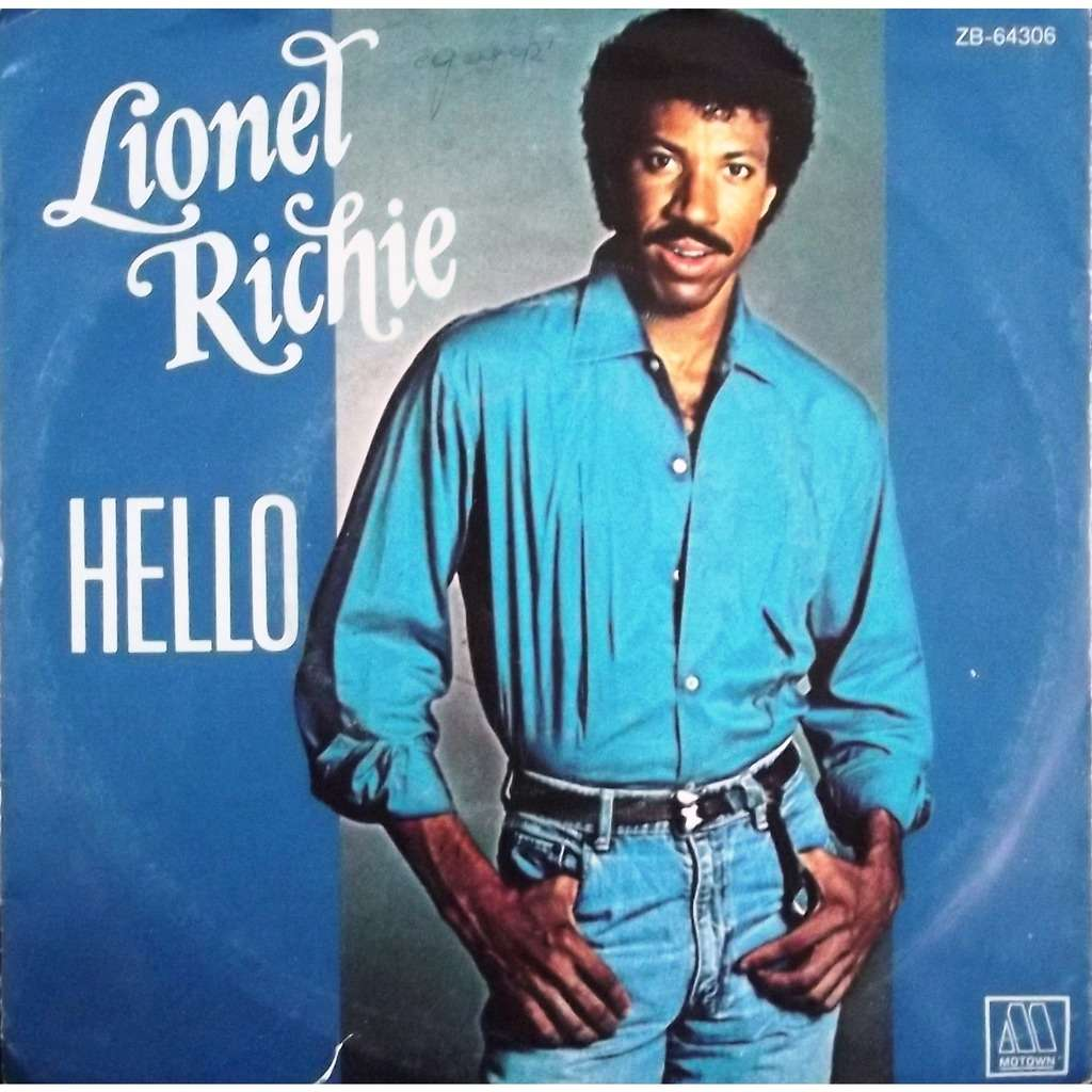 Hello By Lionel Richie Sp With Vinyl59 Ref 117717610