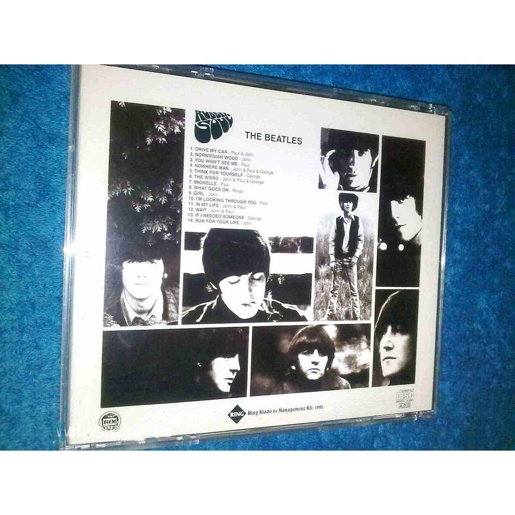 Beatles - Rubber Soul -us Version-
